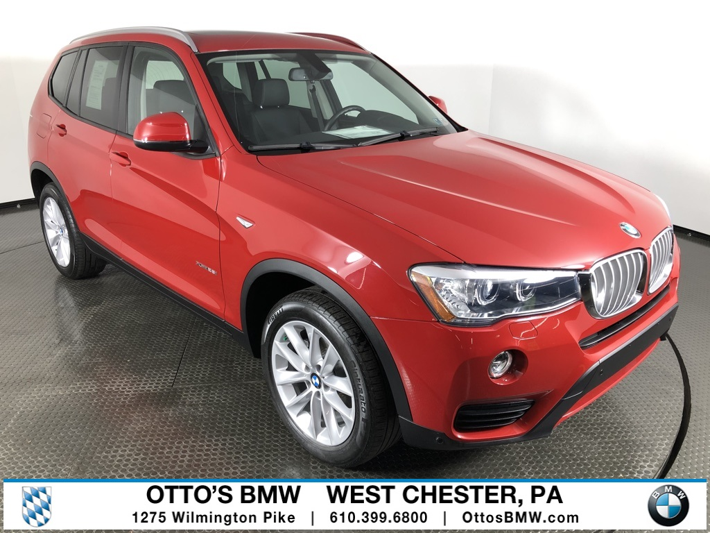 Certified Pre-Owned 2016 BMW X3 xDrive28i AWD