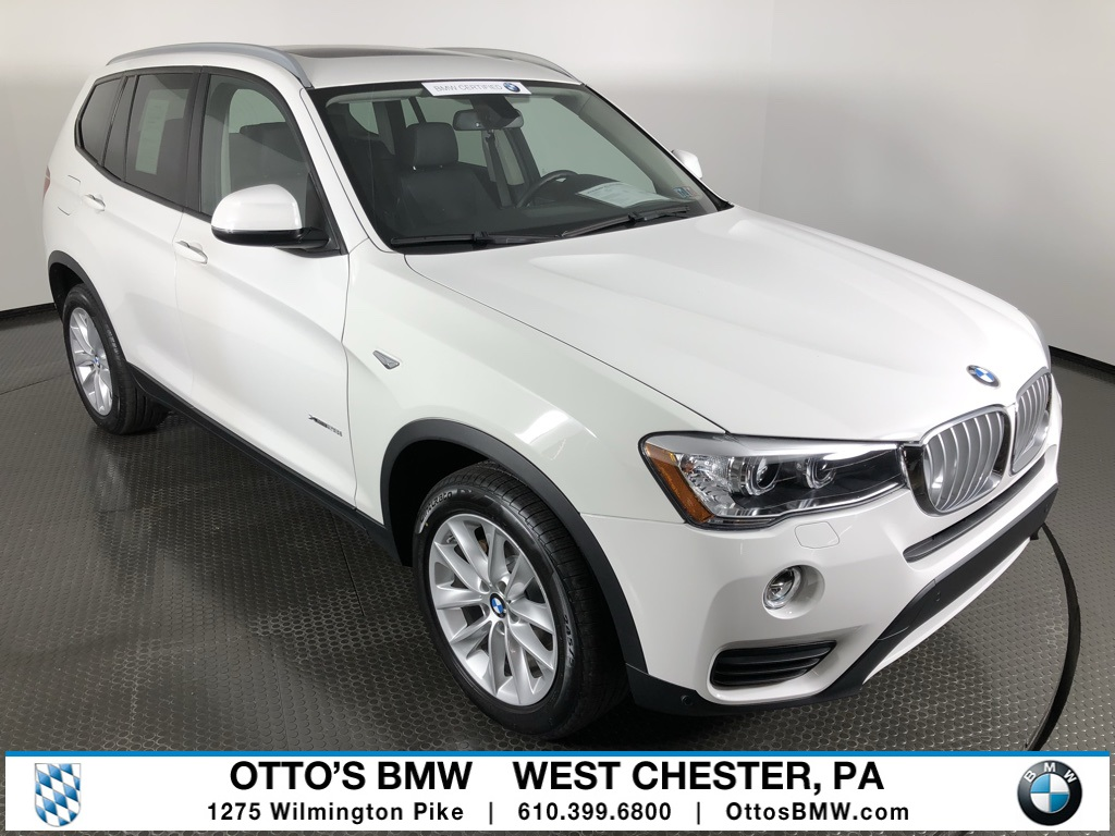 Certified Pre-Owned 2016 BMW X3 xDrive28i With Navigation & AWD