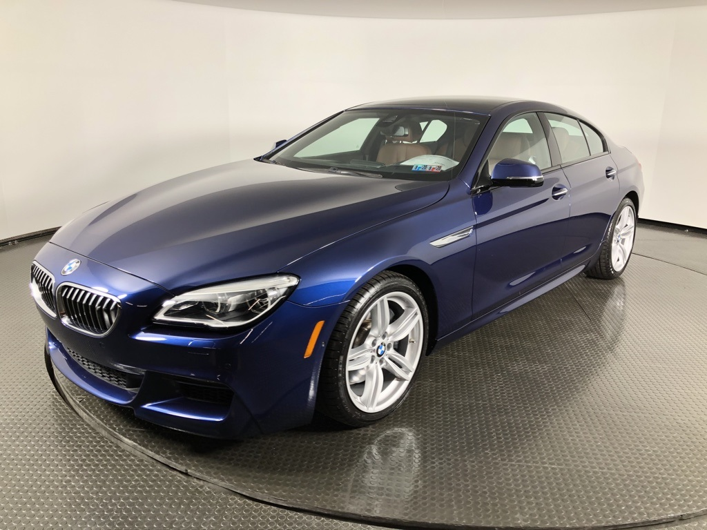 Certified Pre-Owned 2017 BMW 6 Series 640i xDrive