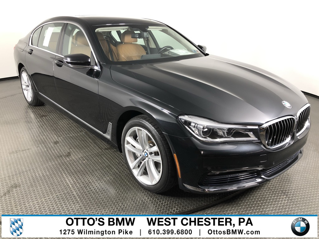 CERTIFIED PRE-OWNED 2016 BMW 7 SERIES 750i xDRIVE WITH NAVIGATION & AWD